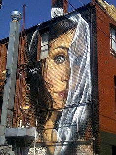 Beyond Banksy Project / Adnate -Melbourne, Australia Street Art Murals Street Art, 3d Street Art, Urban Street Art, Amazing Street Art, Street Art Graffiti, Street Artists, Amazing Art, Awesome, Banksy