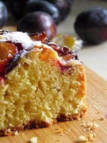 sio-smutki! Monika od kuchni: Łatwe ciasto ze śliwkami na oleju