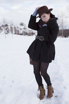 Snow and Bata boots by fashion blogger Danny Rose from Czech Republic #batashoes #streetstyle