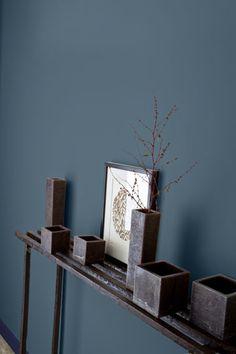 couleur gris bleu peinture | le design o