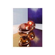 Tom Dixon | Copper is the new blavk and Copper Shade 45 cm as a Floor lamp by Tom Dixon is stunning. | more inspiring images at http://contemporarylighting.eu