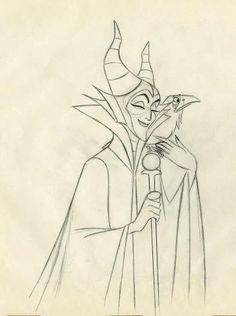 Maleficent ★    Art of Walt Disney Animation Studios © - Website   (www.disneyanimation.com) • Please support the artists and studios featured here by buying this and other artworks in the official online stores (www.disneystore.com) • Find more artists at www.facebook.com/CharacterDesignReferences  and www.pinterest.com/characterdesigh    ★