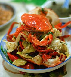 Ginger and Scallion Crab - I used the sauce for shrimp stir fry!