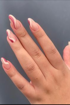 Acrylic Nails Coffin Short, Simple Acrylic Nails, Coffin Nails, Really Cute Nails, Pretty Nails, Glamour Nails, Funky Nails, Minimalist Nails, Manicure E Pedicure