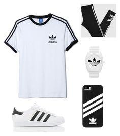 """Adidas Originals"" by jennagj on Polyvore featuring adidas Originals and adidas"