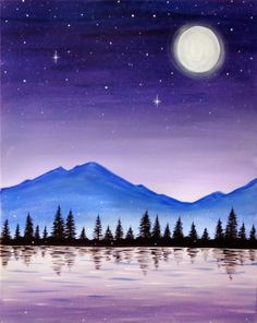 Search our event calendar and find a Paint Nite . - - - Search our event calendar and find a Paint Nite … – Art Simple Oil Painting, Simple Canvas Paintings, Easy Canvas Painting, Small Canvas Art, Diy Canvas, Easy Paintings, Easy Canvas Art, Pour Painting, Painting For Kids