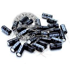 50pcs/bag 8 * 16mm 16V / 1000UF electrolytic capacitor