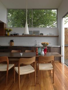 Modern with a mid century flair.