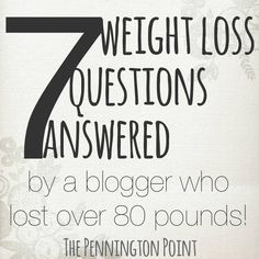 This blogger answers some great questions about how she lost her weight!  #weightloss #diet #essentialoils