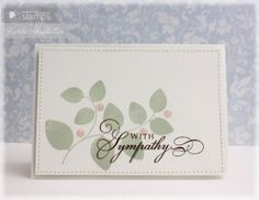 With Sympathy! Waltzing Mouse Stamps