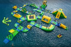 Yogi Bear's Jellystone Park is a fun destination with a giant inflatable water park, pool with two huge waterslides, campsites, a sand beachy, and more. Inflatable Water Park, Giant Inflatable, Oklahoma Water, Keystone Lake Oklahoma, Travel Oklahoma, Oklahoma City, Yogi Bear Jellystone Park, Water Playground, Splash Park