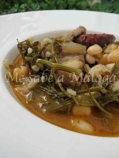 Me sabe a Málaga: Potaje de hinojos y arroz