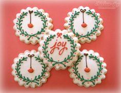 Joy and Bird Wreaths by Melissa Joy - simple & sweet