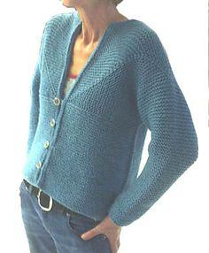 Adult Modular Cardigan Jacket pattern by Loraine Birchall - Pulli Stricken Baby Knitting Patterns, Knitting Stitches, Knitting Designs, Hand Knitting, Sewing Patterns, Cardigan Pattern, Baby Cardigan, Jacket Pattern, Knit Cardigan