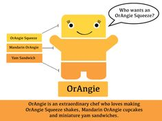 OrAngie the Paint Chip Pal! Man Crafts, Paint Chips, Make Your Mark, Plushies, All The Colors, Miniatures, My Love, World, School Ideas