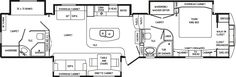 RV 2 bathroom Floor Plans | View Profile