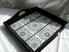 Altered Wooden Tray
