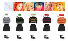 RED VELVET - RUSSIAN ROULETTE♡ by vvvan99 on Polyvore featuring polyvore fashion style Miu Miu Monies Bijoux de Famille VICKISARGE clothing