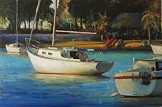 SAFE HARBOR by James Griffin in the FASO Daily Art Show