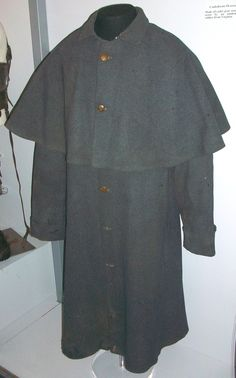 Isaac, Campbell & Company imported Confederate overcoat