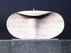 Costantino Nivola ca.1961-1965 , Lettino vuoto, terracotta