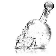 Crystal Skull Head 350ml Vodka & Vin flaska