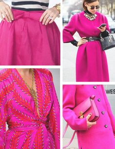 Tendencias de Cores para 2019 - Magenta Summer Wear, Summer Outfits, Classy Outfits, Casual Outfits, Casual Skirts, New Trends, I Dress, Magenta, Casual Wear