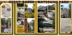 yellowstone scrapbook layout | glacier national park scrapbook layouts | Basin National Park—Alpine ...