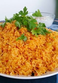 Indiskt tomatris - ZEINAS KITCHEN A Food, Food And Drink, Food Staples, Fried Rice, Side Dishes, Vegetarian Recipes, Curry, Food Porn, Veggies