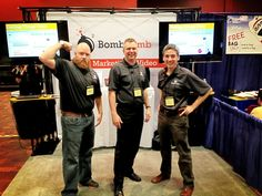Thanks to friend and fan David Upchurch with RE/MAX Executive in Charlotte, NC for visiting with us - and for forcing us to pose for a pic  |  BombBomb Video Email Marketing Software: www.BombBomb.com