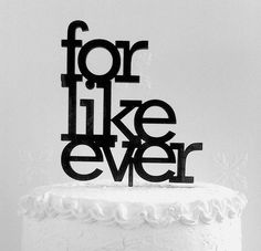 For Like Ever  by Lana S on Etsy