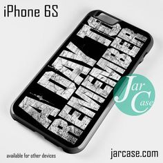 a day to remember 2 Phone case for iPhone 6/6S/6 Plus/6S plus