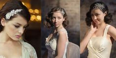 Vintage hair accessories are timeless and give your look a unique feel