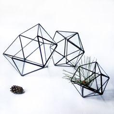 Handmade glass florarium by Lviv artists Leosklo. Unique design for home decor.