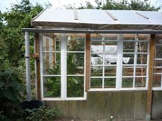 The Green Lever - Using minimal resources for maximum quality of life: Home-made, Low Cost Glass Greenhouse from Recuperated Windows Part 2
