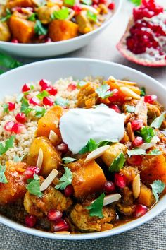Pumpkin and Chicken Tagine | Closet Cooking