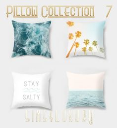 Sims 4 Luxury - Pillow Collection 7 for The Sims 4 Sims New, The Sims 4 Pc, The Sims 4 Bebes, Sims 4 Beds, Sims 4 Family, Muebles Sims 4 Cc, Sims 4 Bedroom, Casas The Sims 4, Sims 4 Children