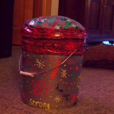 Girl scout camping bucket