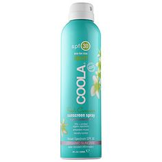 Coola - Sport Continuous Spray SPF 30 - Fresh Cucumber #sephora
