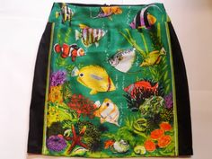 Tropical fish skirt size 16