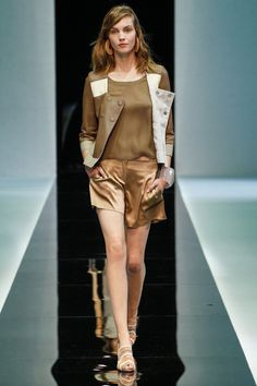 Emporio Armani s/s 2013 MFW...love the jacket