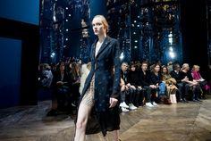 Dior Haute Couture S/S 2016 show at Musée Rodin, Paris - purple FASHION