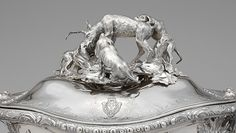Edme-Pierre Balzac (French, 1705–ca.1786). Tureen with cover. The Metropolitan Museum of Art, New York.Bequest of Catherine D. Wentworth, 1948 (48.187.418a–c).