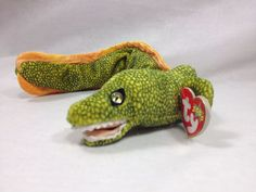 Ty Beanie Baby Morrie the Eel Retired 2000 #Ty