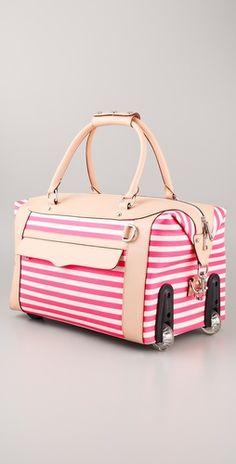 Kathy Van Zeeland Polka Dot Weekend Roller Bag | *Luggage & Bags ...
