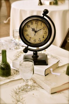 Centerpiece with clocks - Google Search