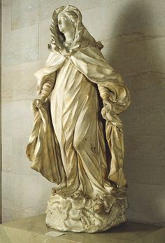 Italian, Madonna, 1700. Marble.
