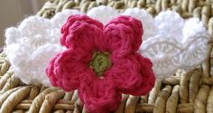 Scalloped Flower Headband by DaisyCottageDesigns, via Flickr