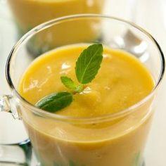 Mango-Green Tea Smoothie