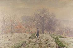 George Houston (1869–1947) Winter Morning